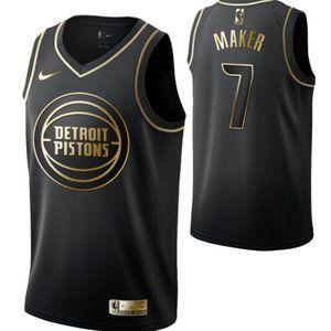 Detroit Pistons #7 Thon Maker nSwingman Jersey